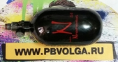 Баллон кевларовый Ninja 68cu/4500psi Black (Б.У.)