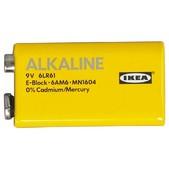 Крона Ikea Alkaline Alkalisk 9v